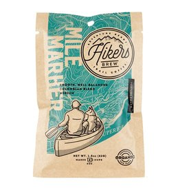 Hikers Brew Mile Marker - Regular Medium Roast Coffee Pouch