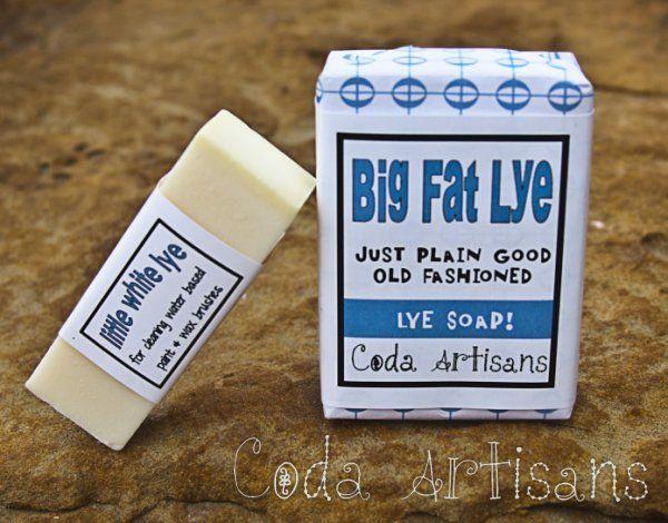 Coda Artisans Big Fat Lye Soap BFL