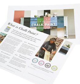 Annie Sloan Chalk Paint Color Card Folder
