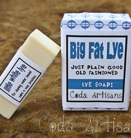 Coda Artisans Little White Lye Soap
