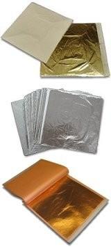 Coda Artisans Gold Leaf (Brass Leaf)-100pk