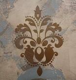 Coda Artisans Floral Damask Stencil