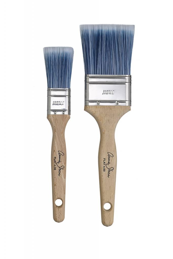 Annie Sloan Blue Flat Smoothing Brush Lg