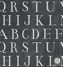 Royal Design Studios Classic Letter Stencil