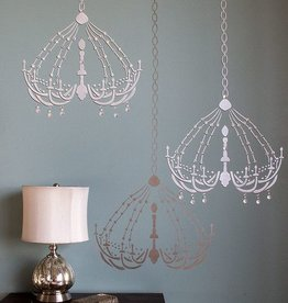 Royal Design Studios DressingRoom Chandelier Stencil