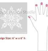 Royal Design Studios Moroccan Embroidered Star Stencil