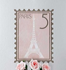Royal Design Studios Paris Postage Stamp Stencil