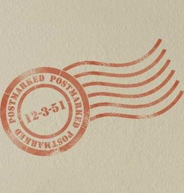 Royal Design Studios Postmark Stencil