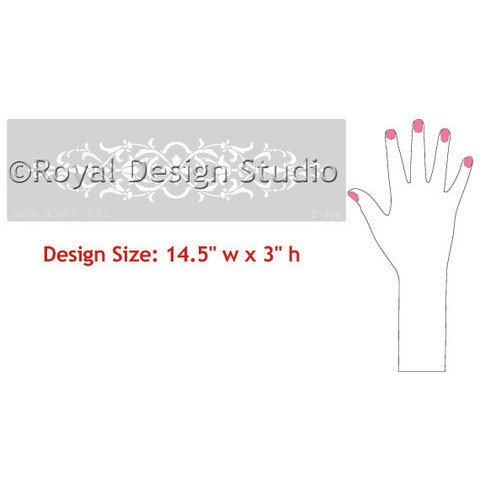 Royal Design Studios Sm Micah Stencil