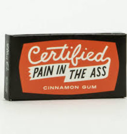 Blue Q Certified Pain In The Ass Gum