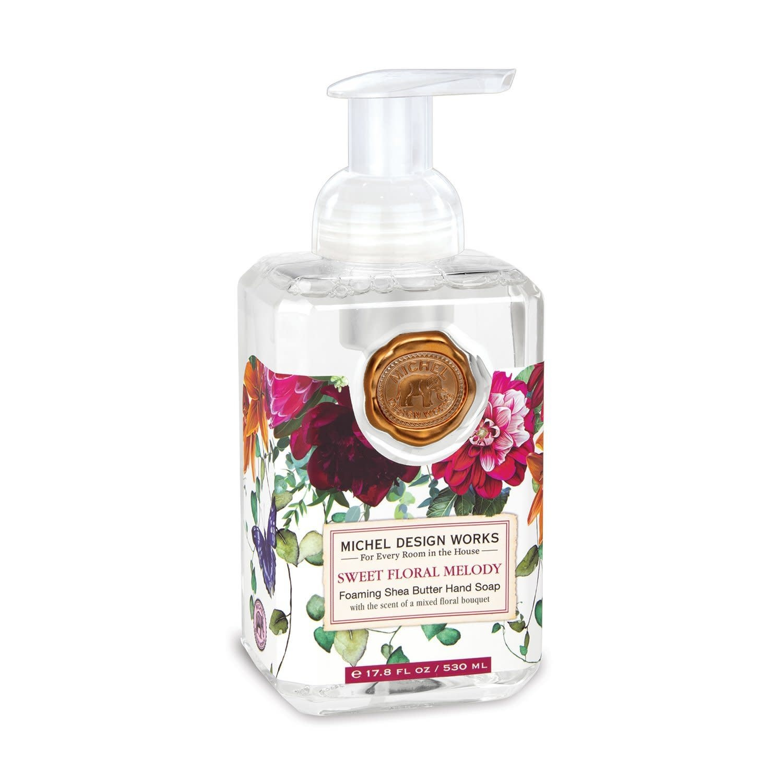 Michel Design Works Sweet Floral Melody Foamer Soap