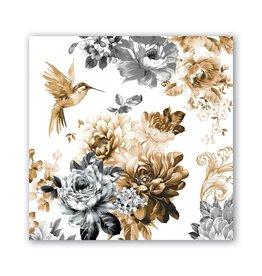 Michel Design Works Gardenia Cocktail Napkin