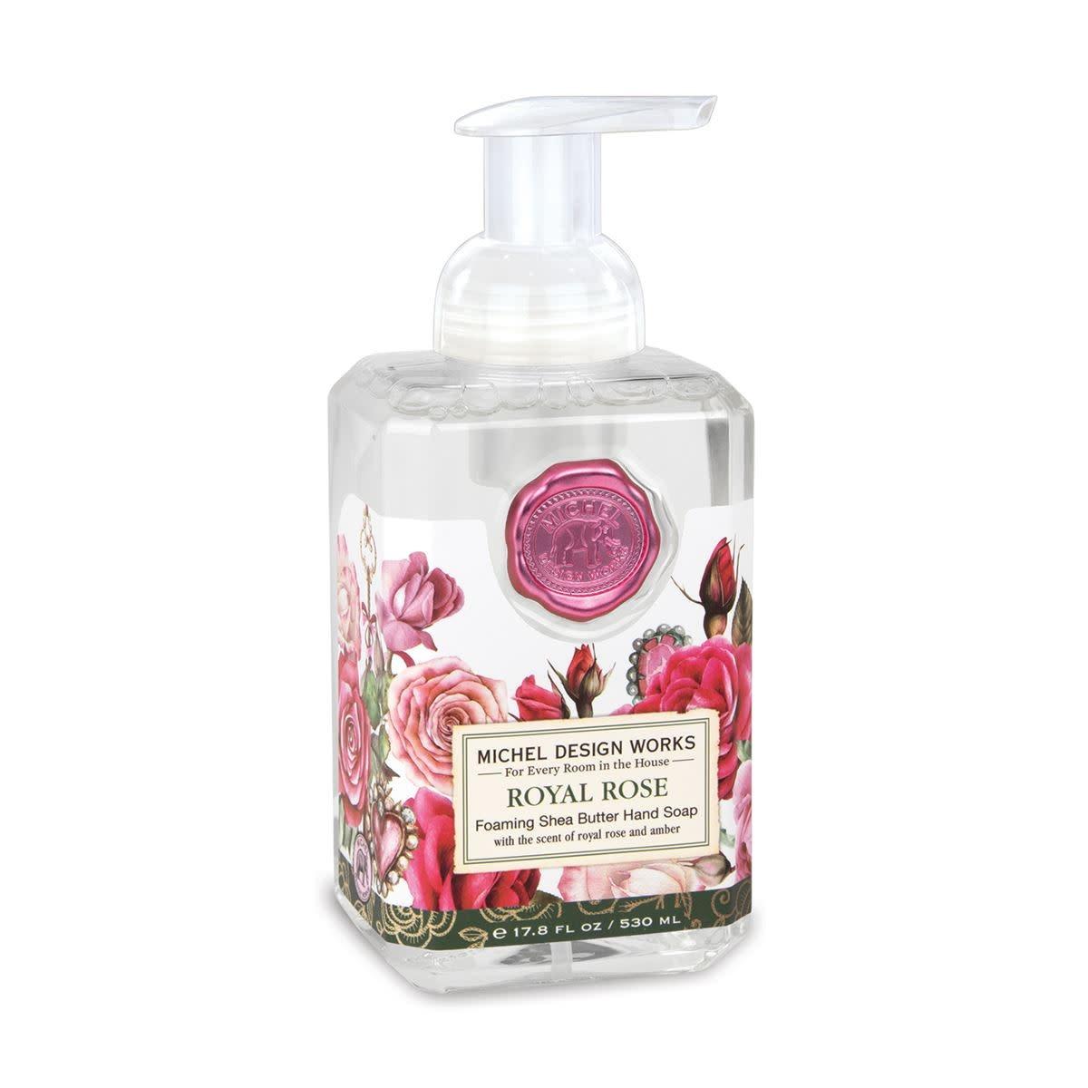 Michel Design Works Royal Rose Foamer Soap