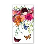 Michel Design Works Sweet Floral Melody Hostess Napkin