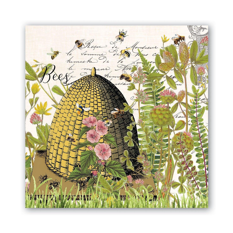 Michel Design Works Honey & Clover Luncheon Napkin