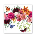 Michel Design Works Sweet Floral Melody Luncheon Napkin