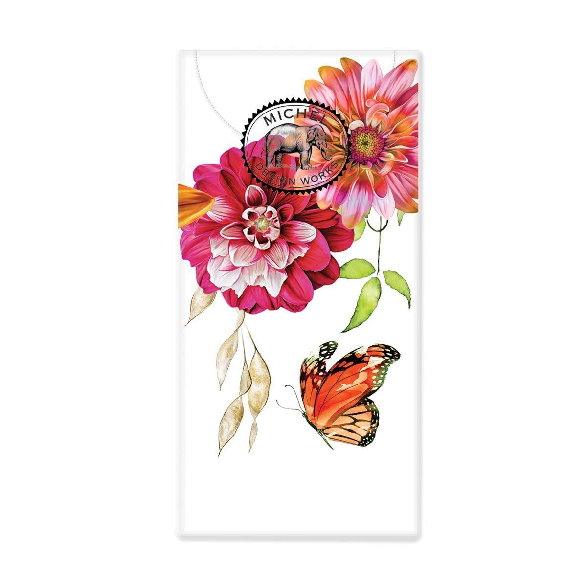 Michel Design Works Sweet Floral Melody Pocket Tissues