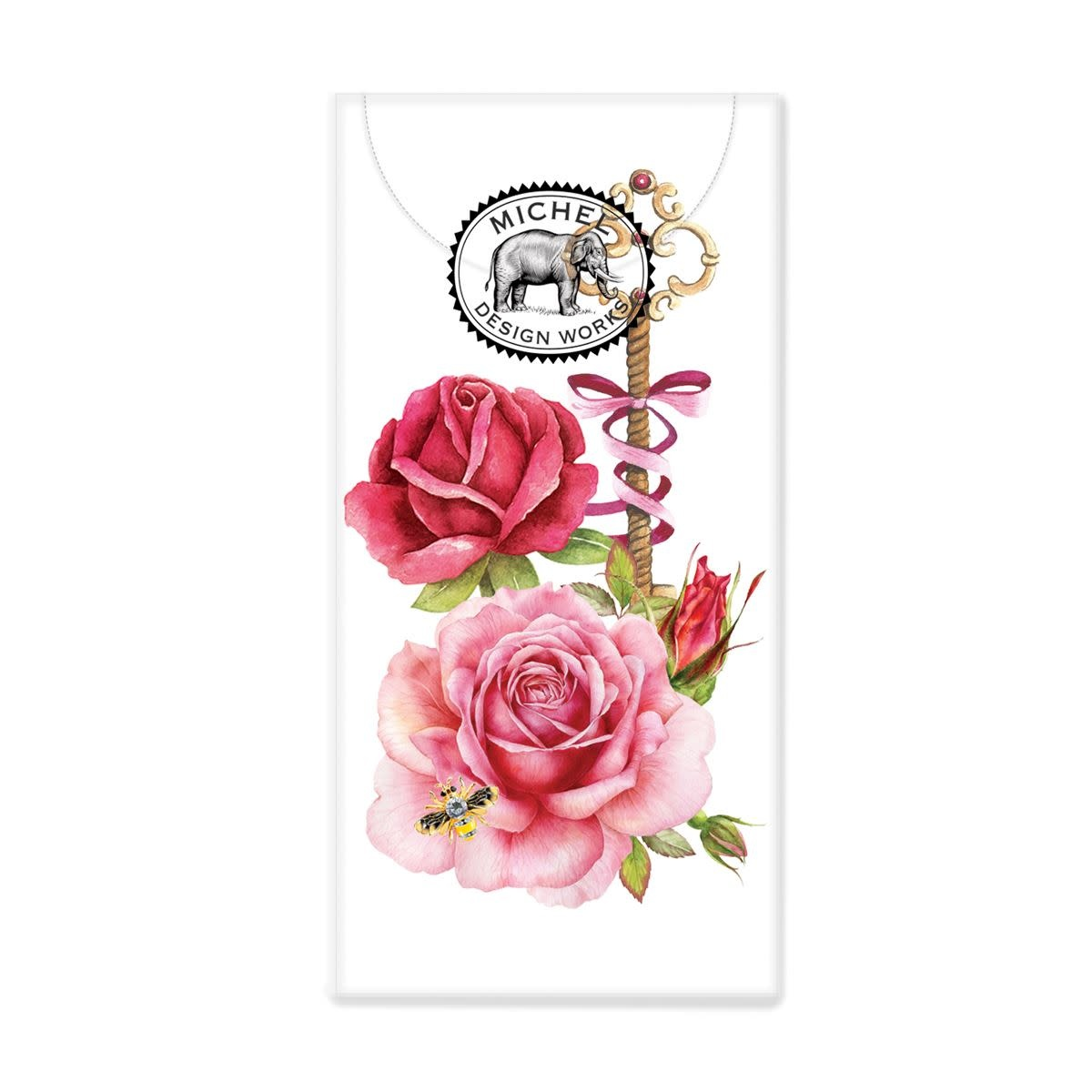 Michel Design Works Royal Rose Pocket Tissues