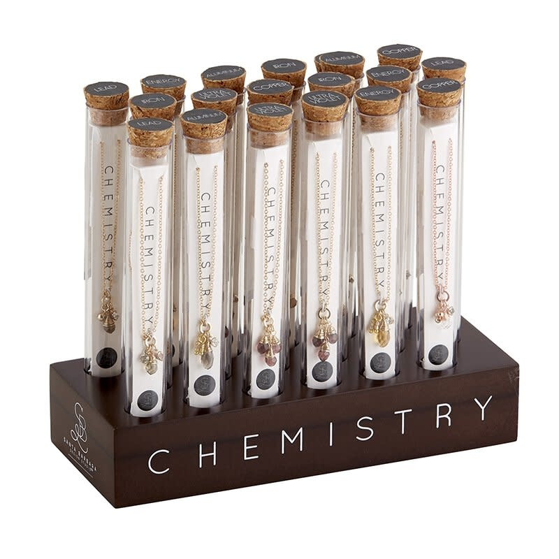 Fleurish Home Chemistry Necklace (Various Designs)