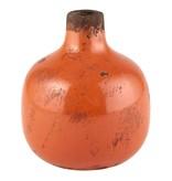 Fleurish Home Orange Mini Vase