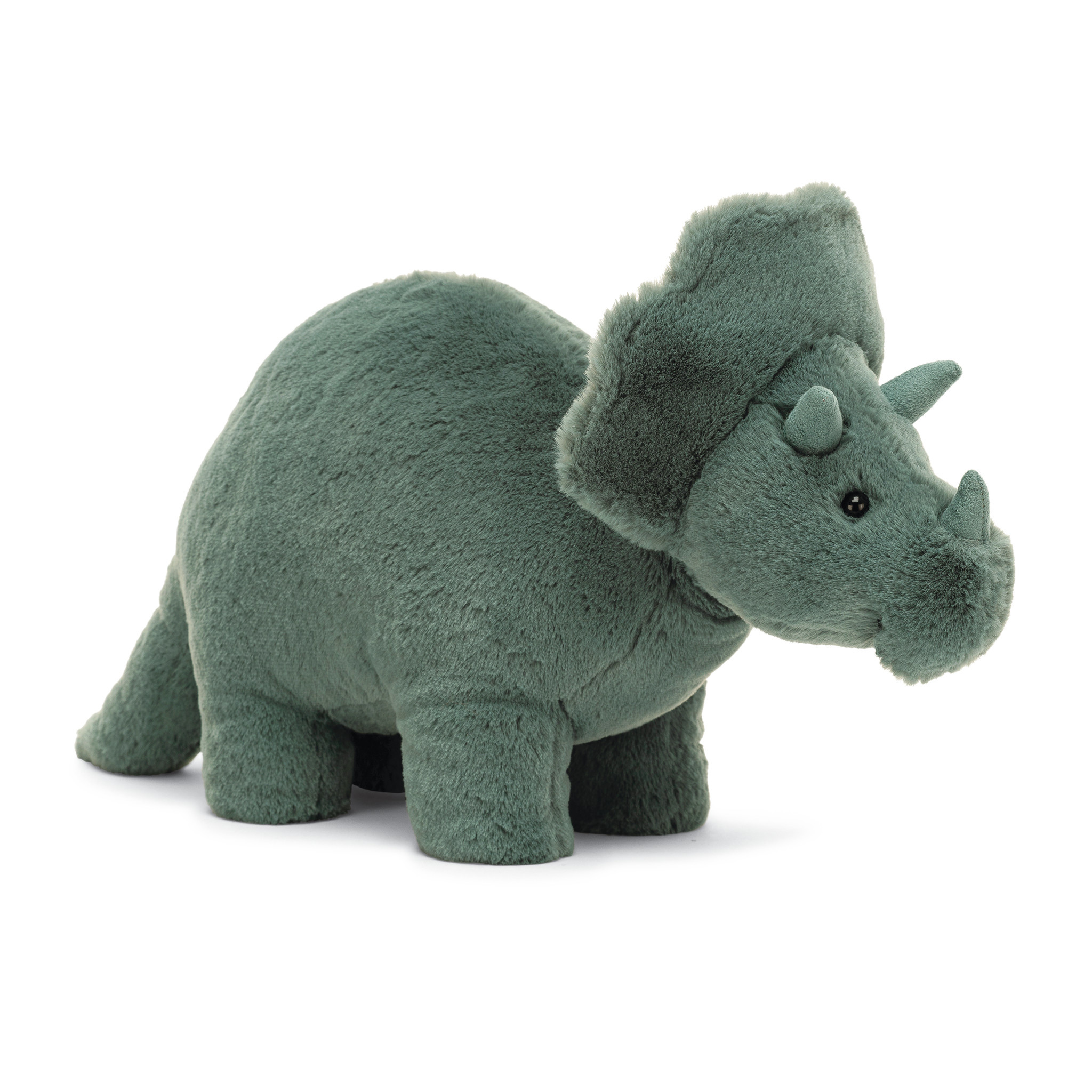 Jellycat Fossilly Triceratops