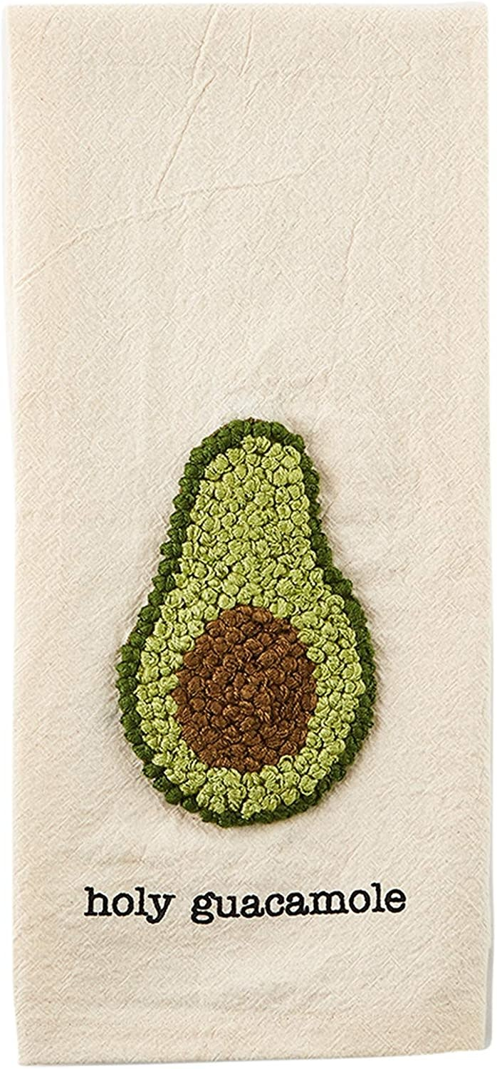 Mudpie GUAC LARGE KNOT TOWEL