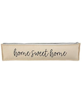 Mudpie HOME LONG GRAY WELCOME PILLOW (home sweet home)