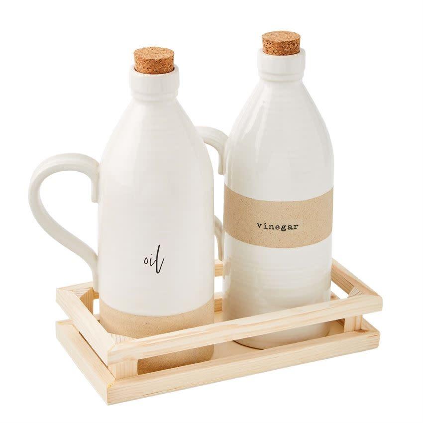 Mudpie Oil & Vinegar Crate Set