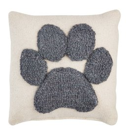 Mudpie PAW SMALL HOOK PILLOW