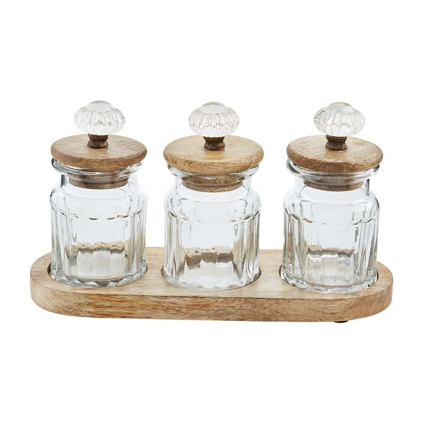 Mudpie Door Knob Condiment Set