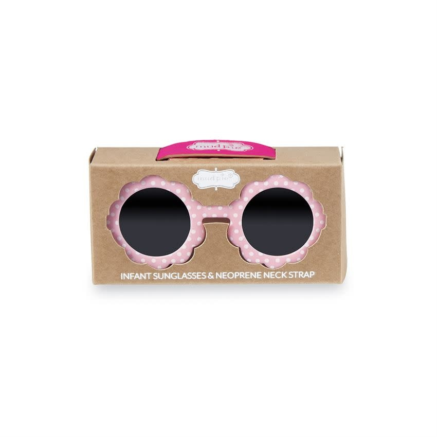 Mudpie PINK FLOWER GIRL SUNGLASSES