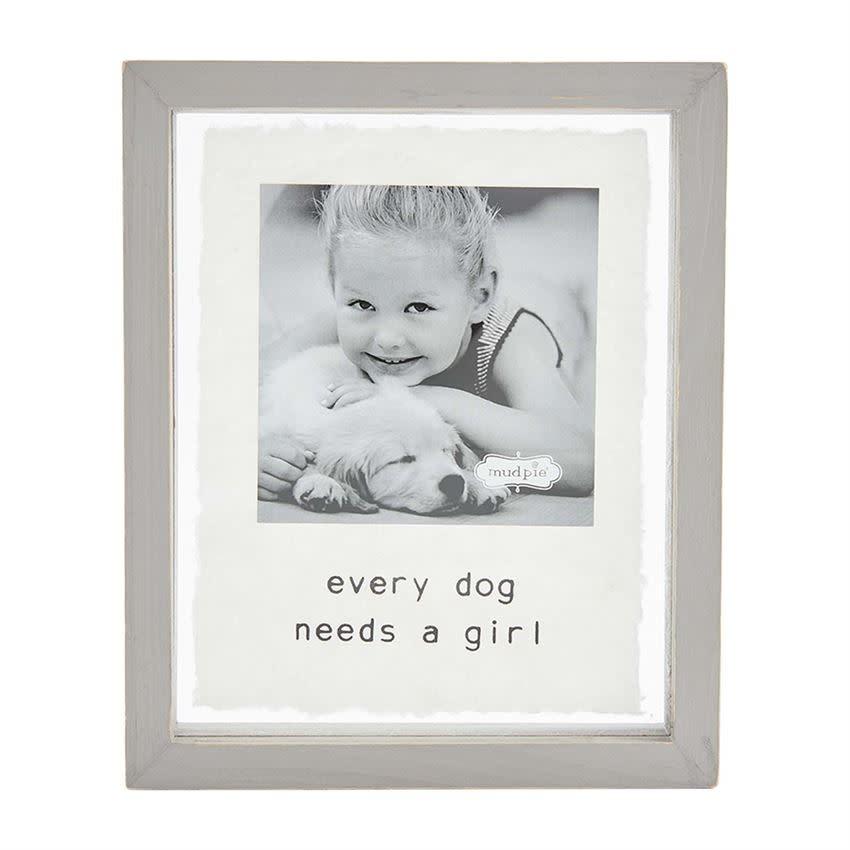 Mudpie EVERY GIRL DOG FRAME