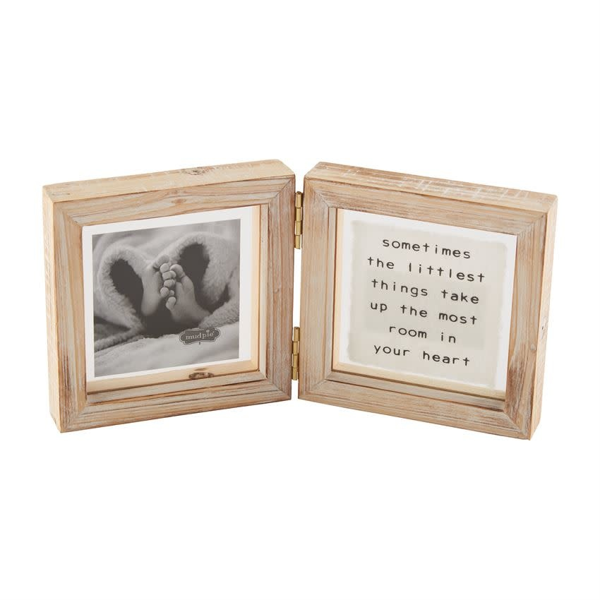 Mudpie LITTLE THINGS BABY GLASS FRAME