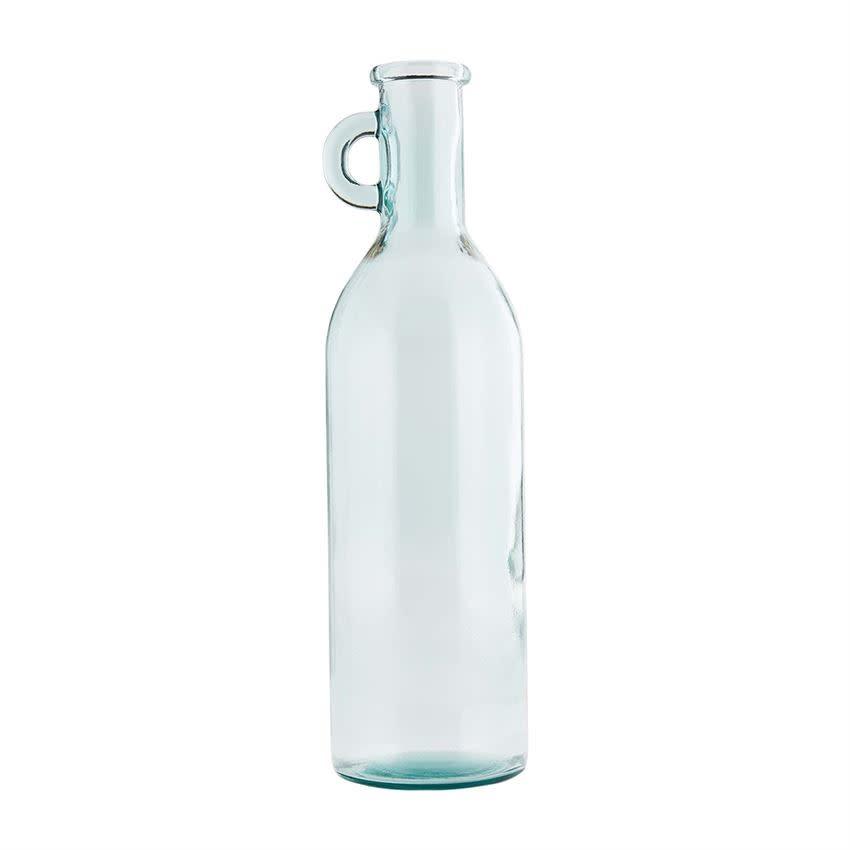 Mudpie TALL GLASS HANDLE VASE