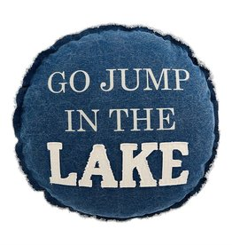 Mudpie GO JUMP LAKE PILLOW