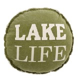 Mudpie LAKE LIFE PILLOW