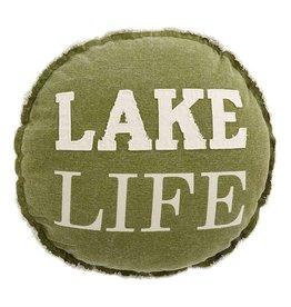 Mudpie LAKE LIFE PILLOW
