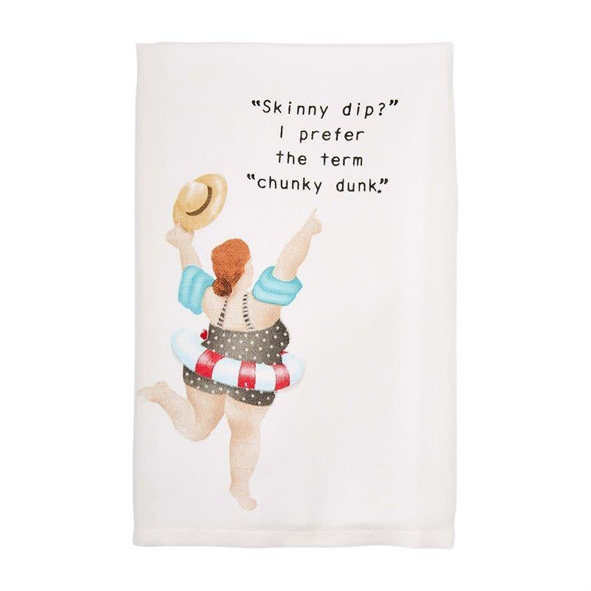 Mudpie CHUNKY DOWN POOL LADIES TOWEL