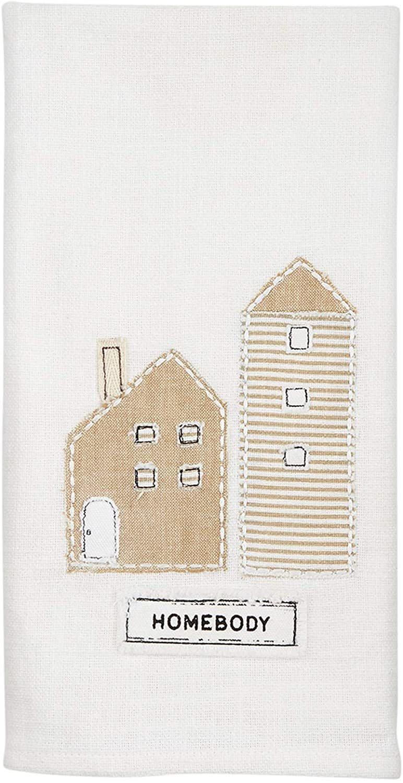 Mudpie HOMEBODY APPLIQUE TOWEL