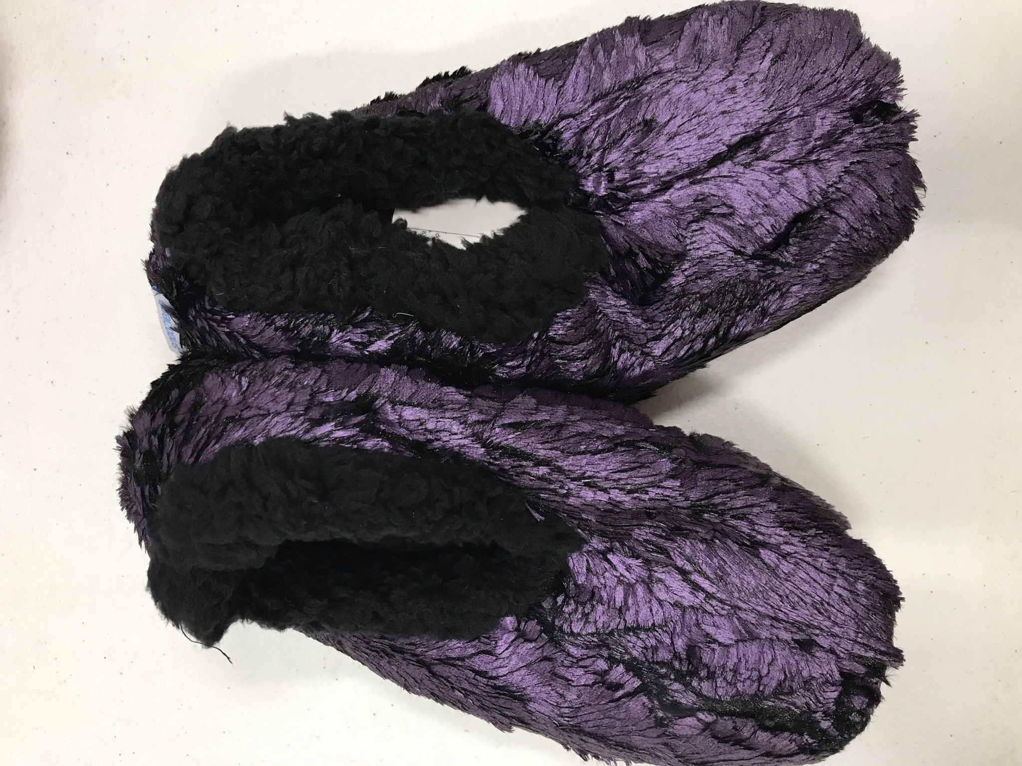 Fleurish Home Gilded Fur Slippers (various)