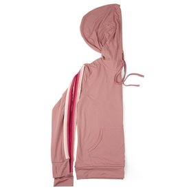 Hello Mello Pink '76 Varsity Hoodie