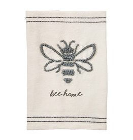 Mudpie BEE LARGE KNOT TOWEL