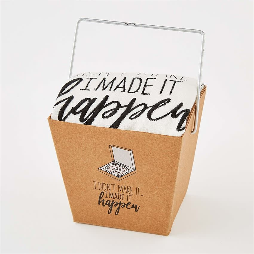 MADE IT HAPPEN TAKEOUT TOWEL