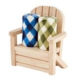 Mudpie Check Salt & Pepper Chair Set *last chance