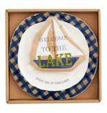 Mudpie Lake Cheese Plate Set *last chance