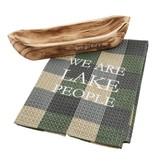 Mudpie LETS GO CANOE TOWEL SERVING SET *last chance