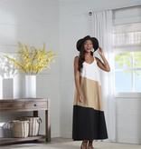 Mudpie Black MacKenzie Maxi Dress