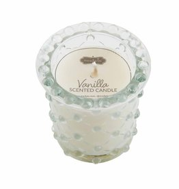 Mudpie CRISS CROSS BEADED CANDLE