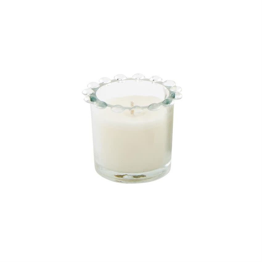 Mudpie SMALL BEADED CANDLE