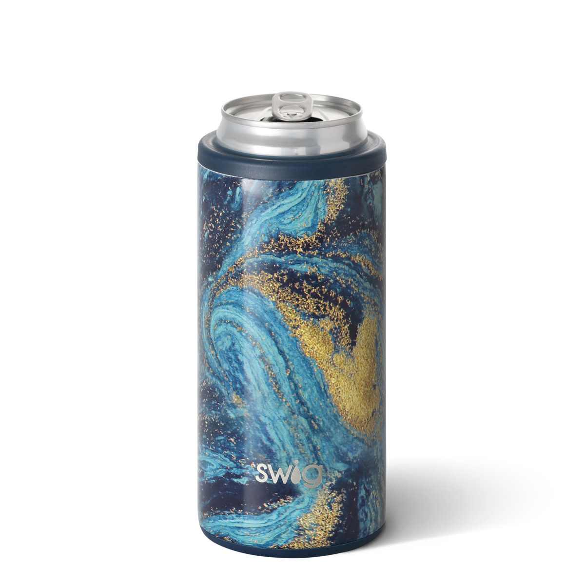 Swig Swig 12oz Skinny Can Cooler-Starry Night